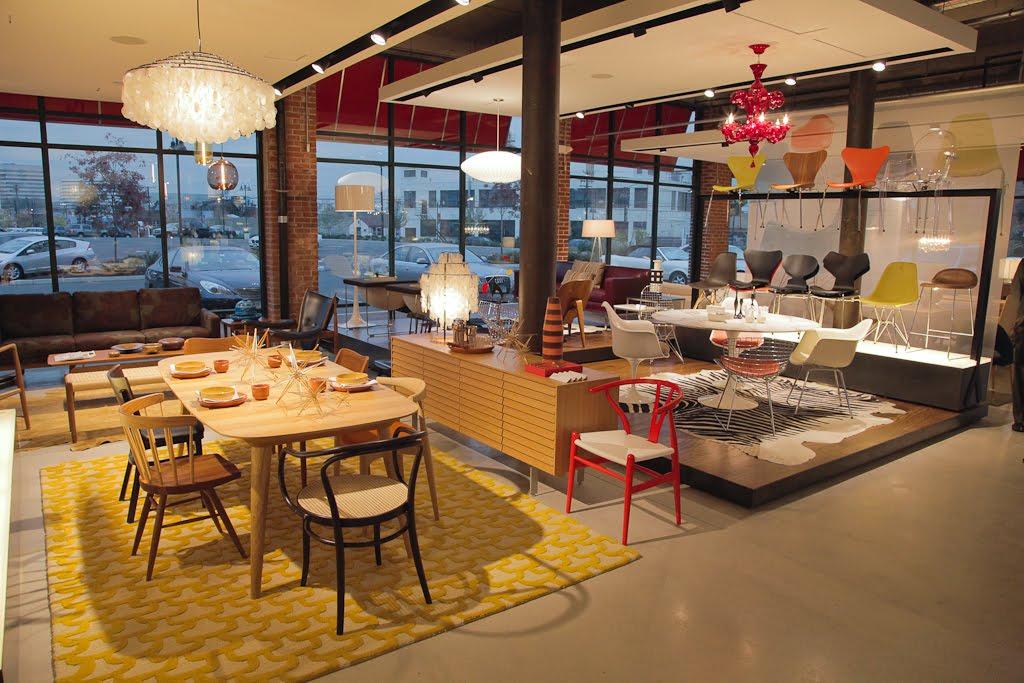 Design Within Reach Stamford.Light Studio La Lights Up The Design Within Reach Store In