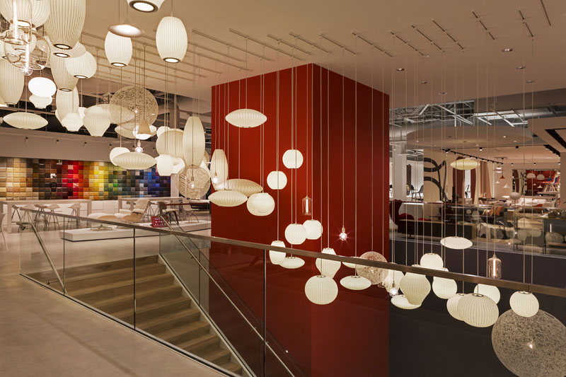 Decorative  light cloud  adds. Design Within Reach Chicago   Light Studio LA
